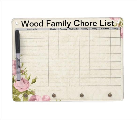 chores list for family - Apmayssconstruction