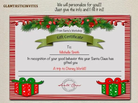 Homemade Gift Vouchers Templates | Manager.billybullock.us