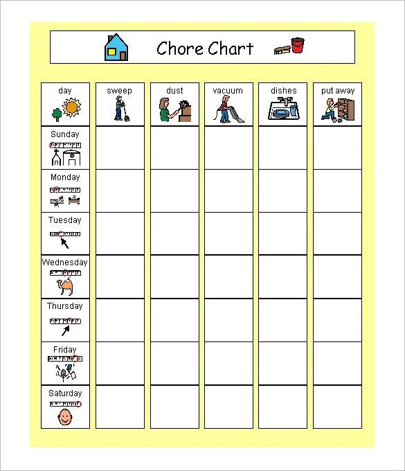 family timetable template - Canasbergdorfbib