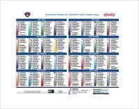 13+ Football Depth Chart Template - Free Sample, Example ...