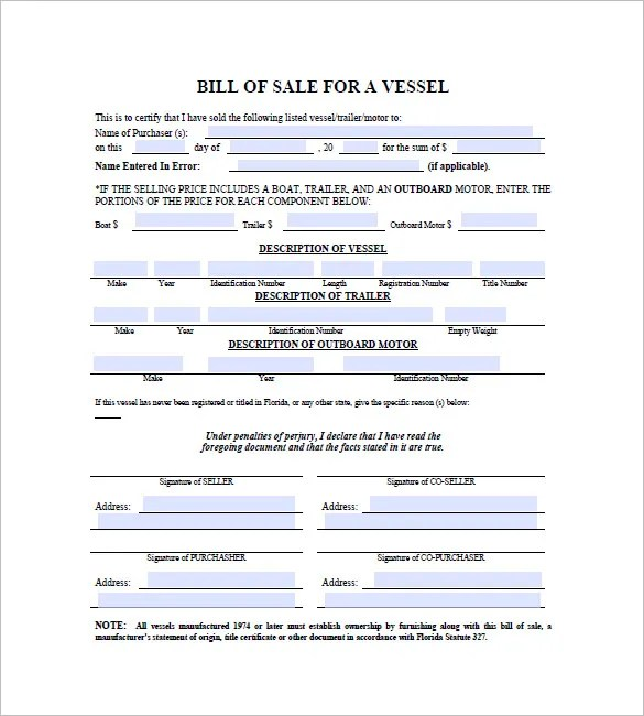 blank bill of sale form nc - Solidgraphikworks - bill of sales forms