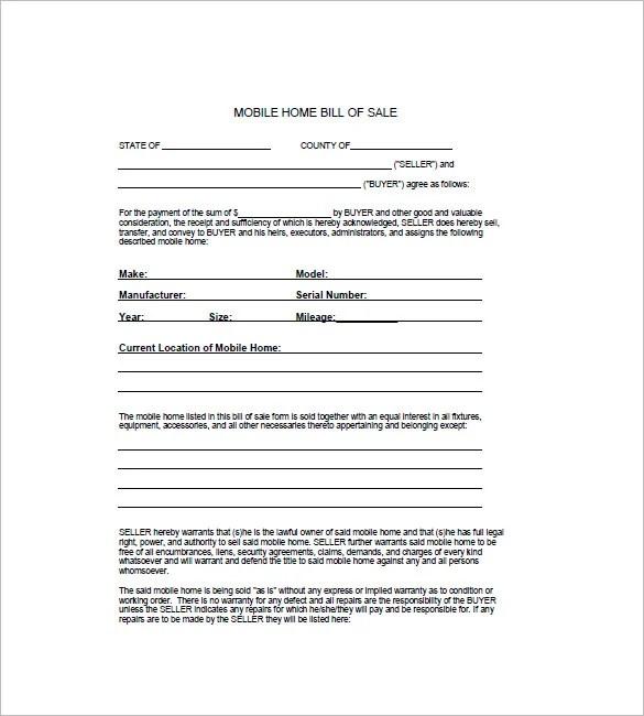 Horse Bill of Sale \u2013 8+ Free Sample, Example, Format Download - free horse bill of sale