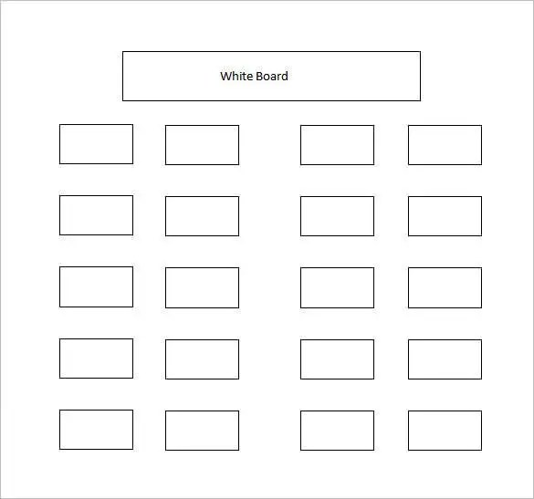 blank seating chart - Josemulinohouse