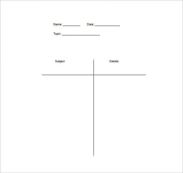 t chart template word - Acurlunamedia - roman numeral chart template