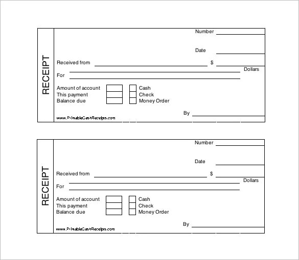 free printable blank receipts - Onwebioinnovate - printable blank receipts