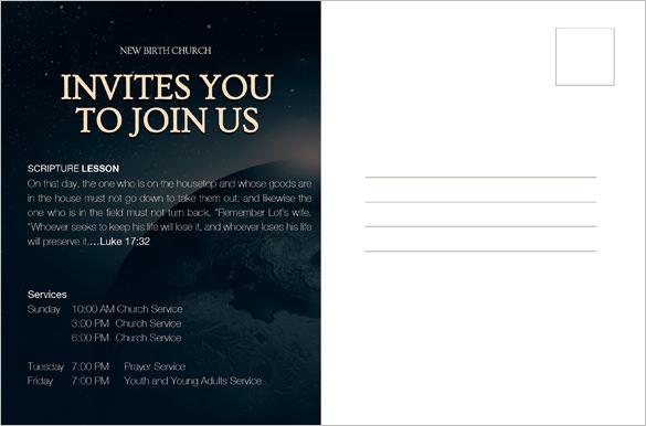 Postcard Template - 47+ Free Printable Word, Excel, PDF, PSD