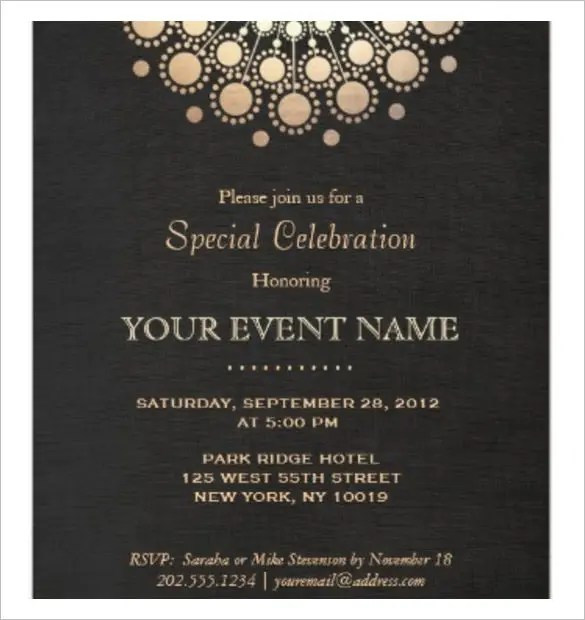 37+ Invitation Templates -Word, PDF, PSD, Publisher, InDesign Free