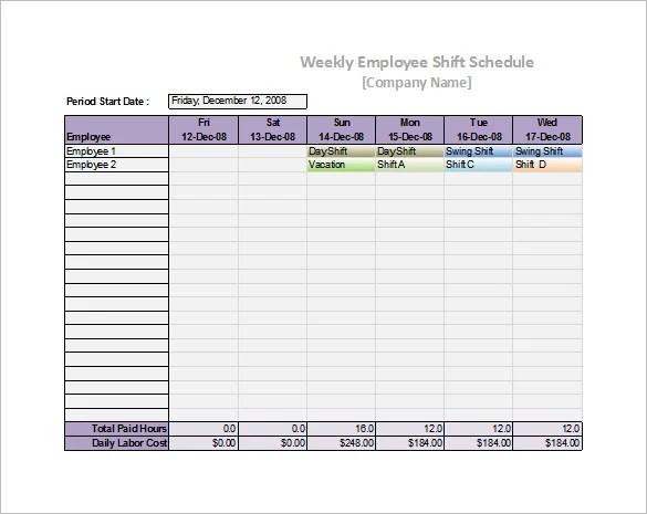 55+ Schedule Templates  Samples - Word, Excel, PDF Free  Premium