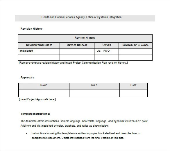 Project Schedule Templates - 11+ Free Sample, Example Format