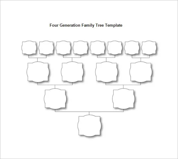 Family Tree Diagram Template \u2013 9+ Free Sample, Example, Format