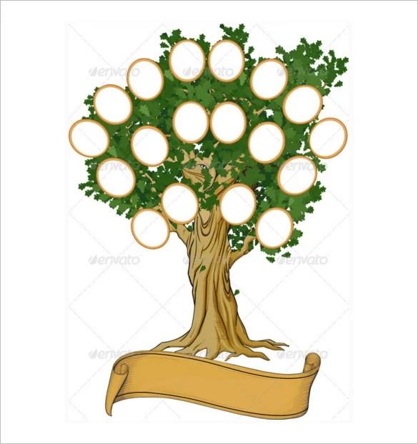 Family Tree Diagram Template - 15+ Free Word , Excel, PDF Free