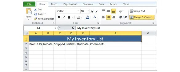 5+ How to Make an Inventory Using Excel - Tutorial Free  Premium