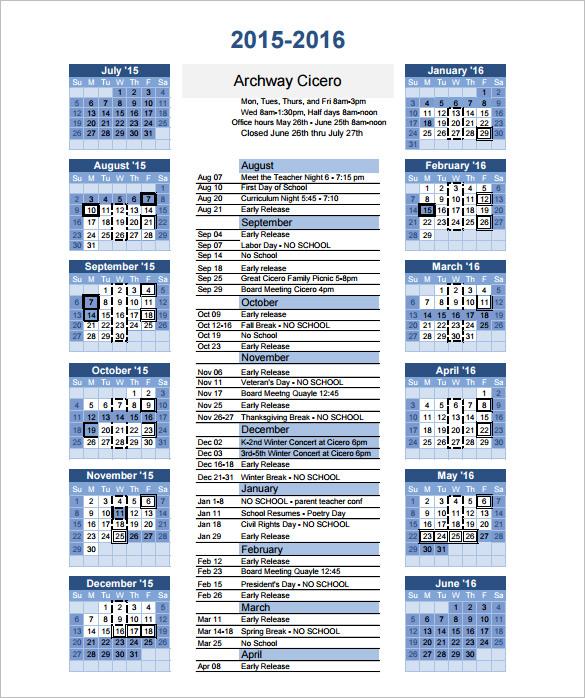Calendar Template - 41+ Free Printable Word, Excel, PDF, PSD