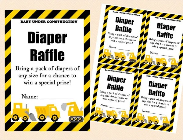 Printable Raffle Ticket Template - 18+ Free Word, Excel, PDF - raffle ticket prizes