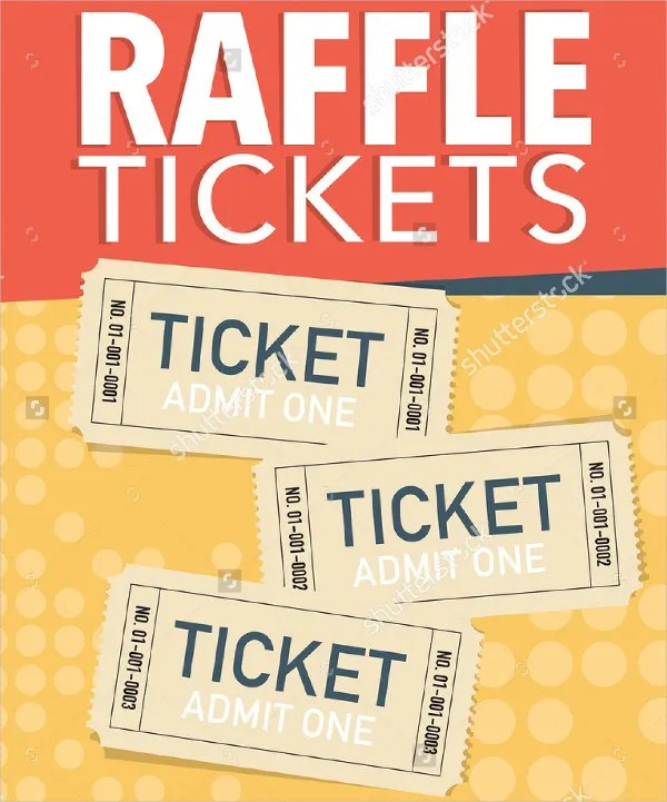 21+ Printable Raffle Ticket Templates - PSD, Ai, Word, InDesign