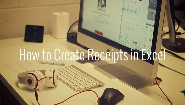 How to Create Receipts in Excel Free  Premium Templates