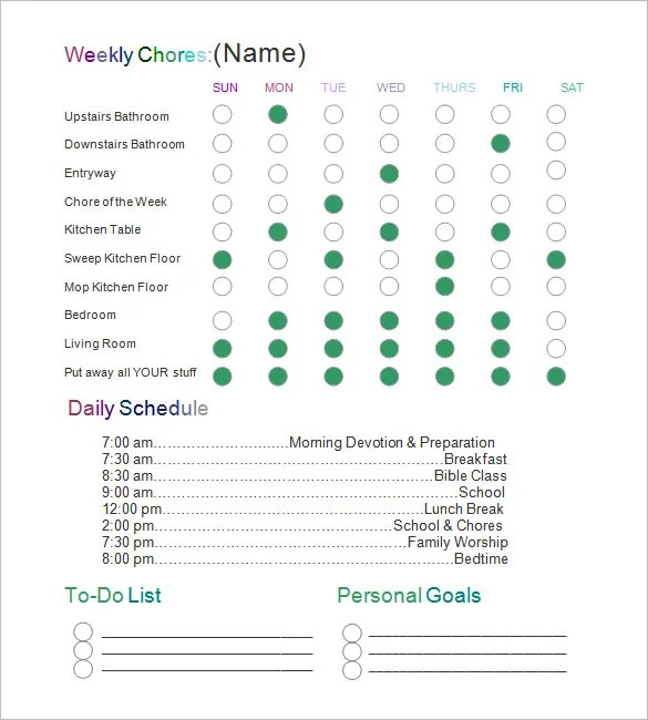 Chart Template u2013 41+ Free Printable Word, Excel, PDF, PPT, Google - number chart template