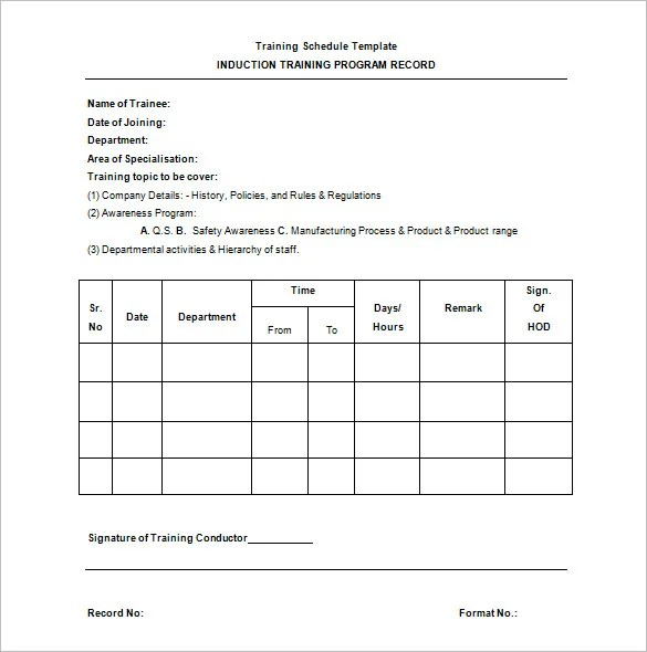 example of training schedule - Boatjeremyeaton - sample training plan