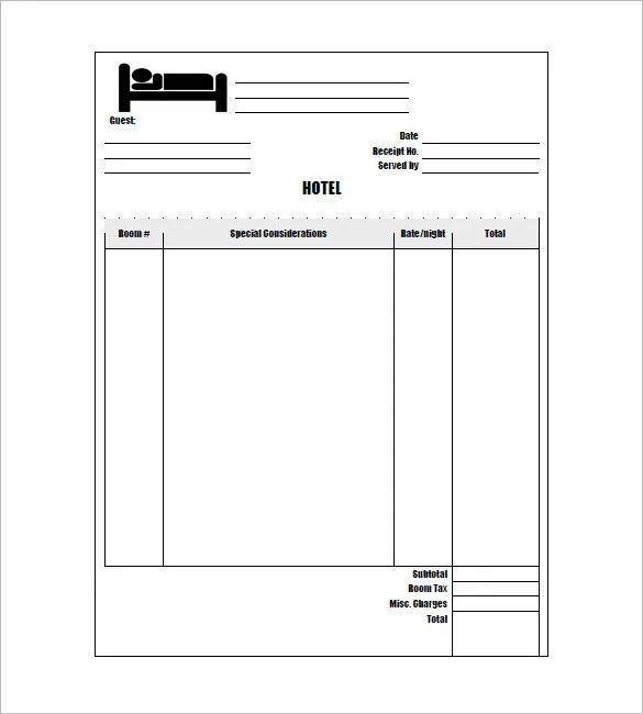 Create A Receipt Template – Create a Receipt Template