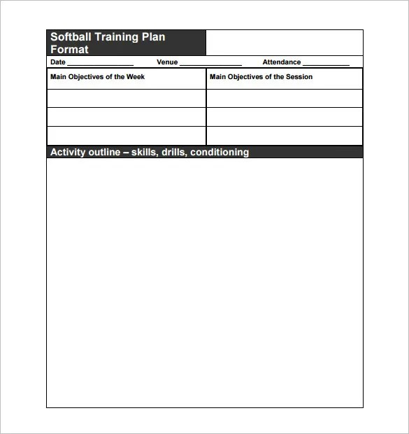 Top Result 60 Awesome Training Session Plan Template Gallery 2017 - sch outline template