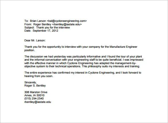 looking forward to working with you letter
