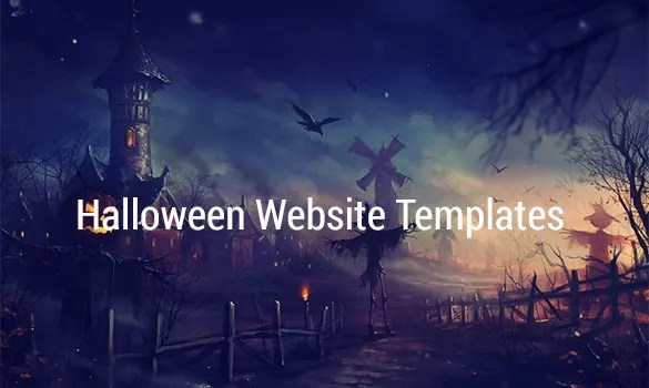 151+ Halloween Themes  Templates Free  Premium Templates - halloween website template