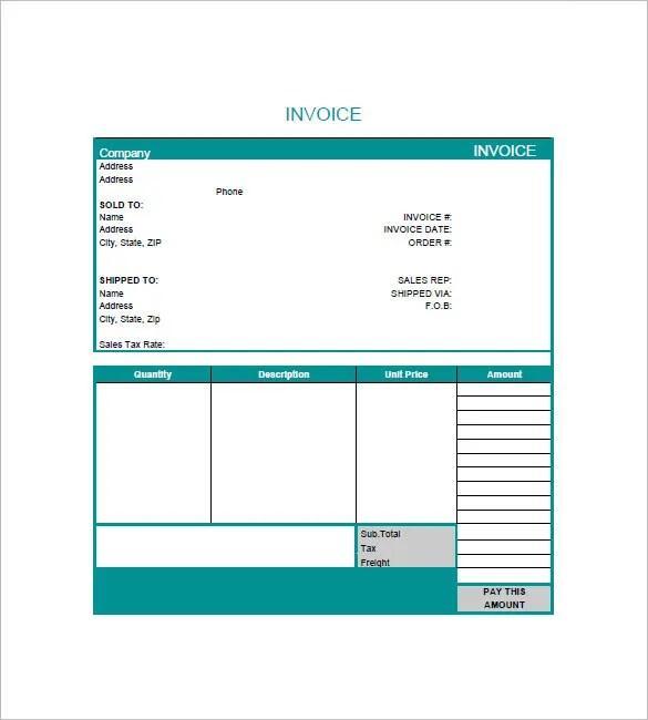 Graphic Design Invoice Templates \u2013 8+ Free Word, Excel, PDF Format - graphic design invoice sample
