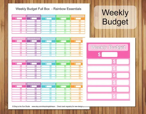 Budget Template - 39+ Free Word, Excel, PDF Format Download! Free