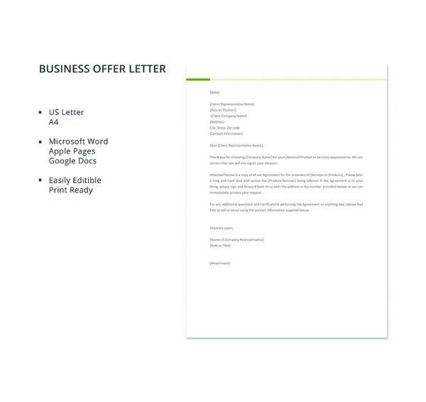 50+ Business Letter Templates -PDF, DOC Free  Premium Templates - business letter templet