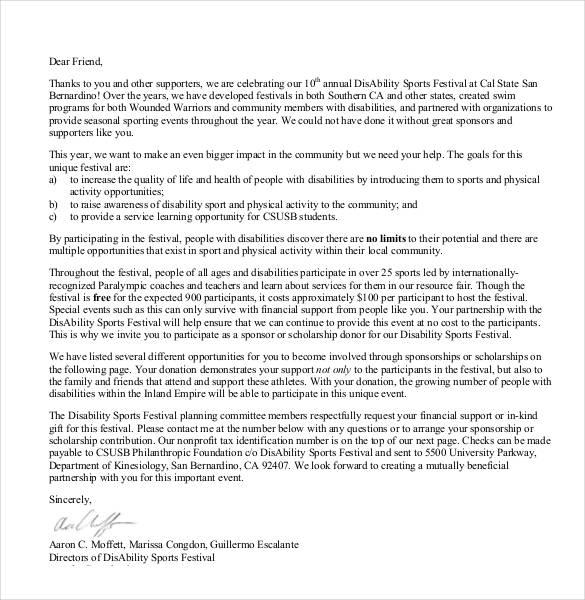 35+ Donation Letter Templates - PDF, DOC Free  Premium Templates