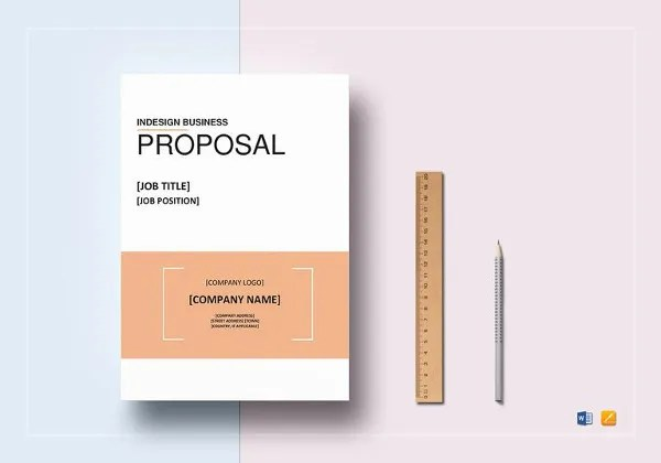 Proposal Template - 31+ Free Word, PDF, Indesign Format Download