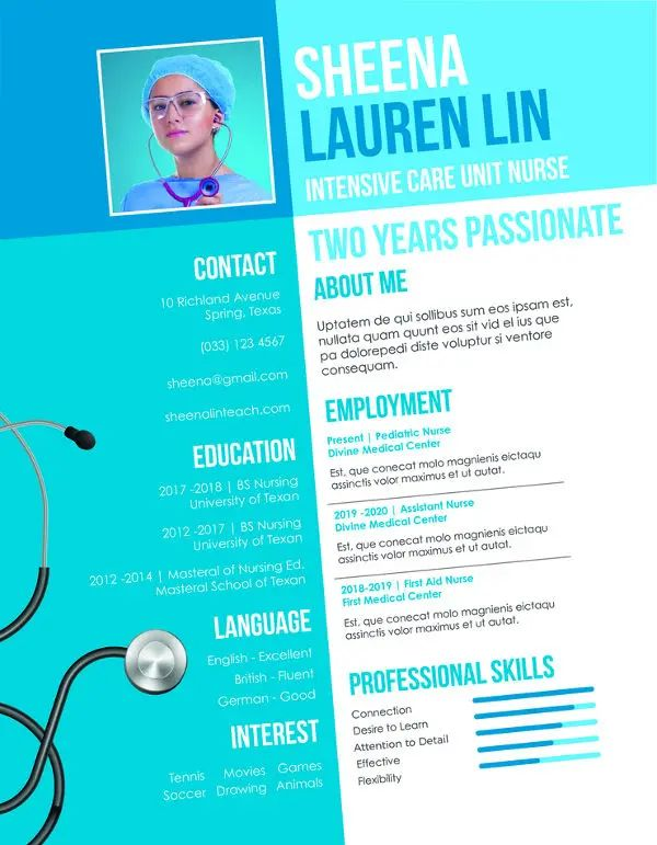 microsoft publisher resume templates download