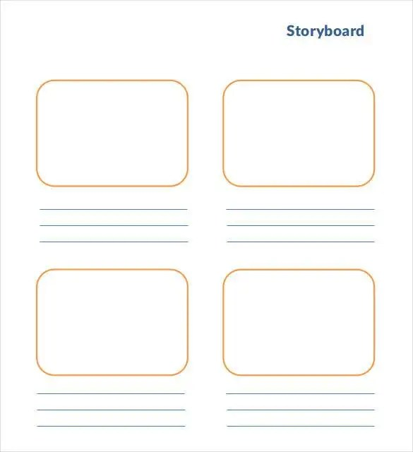 Movie Storyboard Free Sample Example Format Download Powerpoint - digital storyboard templates
