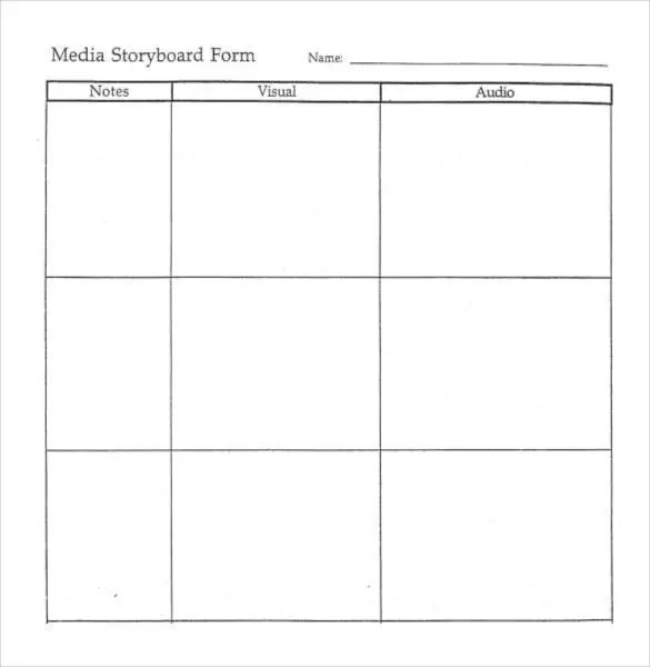 Superior ... Media Storyboard Template Storyboard Template   77+ Free Word, PDF,  PPT, PSD Format Free ... Photo