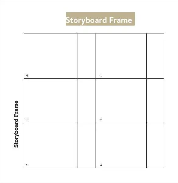 Storyboard Template - 77+ Free Word, PDF, PPT, PSD Format Free - vertical storyboard