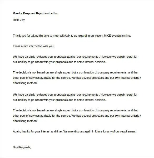 Proposal Letter Template - 24+ Free Word, PDF Document Formats - it services proposal
