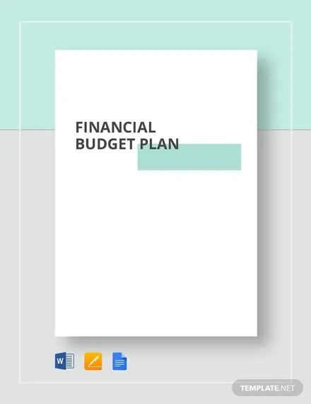 17+ Financial Plan Templates - Sample, Example Word, Apple Pages