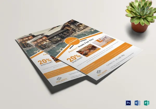 33+ Free Download Real Estate Flyer Template in Microsoft Word - sample real estate brochure