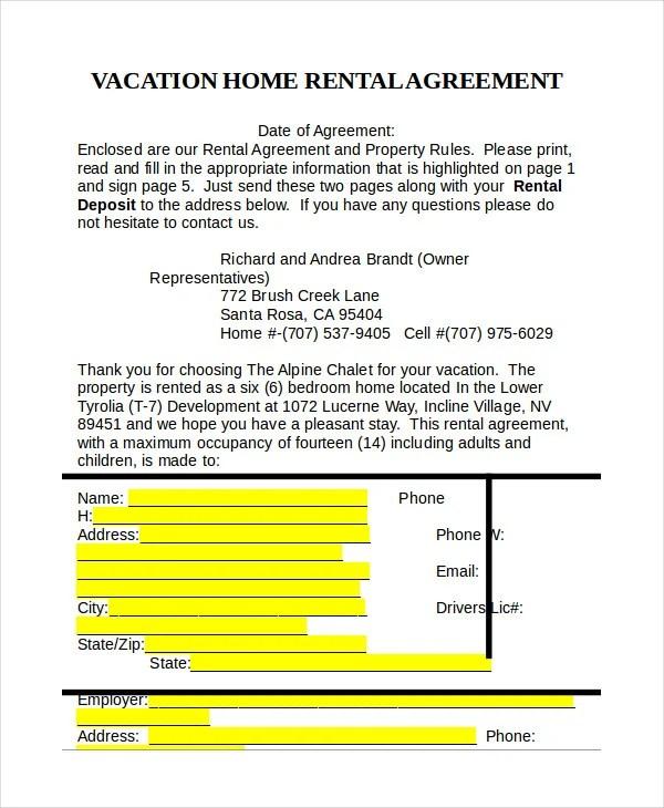Rental Deposit Form Node2003 Cvresumeasprovider