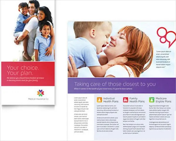 Insurance Brochure - 17+ Free Free PSD, Vector EPS, PNG Format - medical brochures templates