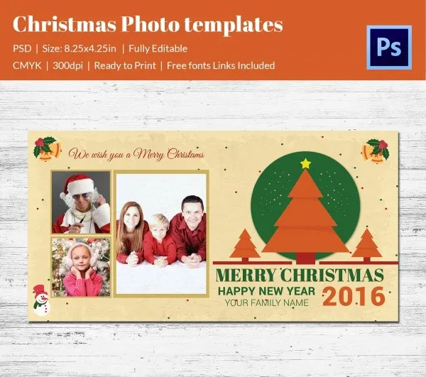 32+ Christmas Photo Templates - Free PSD, AI, Illustraion, PDF