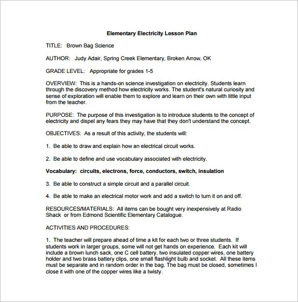 Sample Lesson Plan Template Common Core Standards Pleasant 8 Lesson - sample common core lesson plan