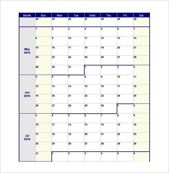 17+ Blank Work Schedule Templates - PDF, DOC Free  Premium Templates