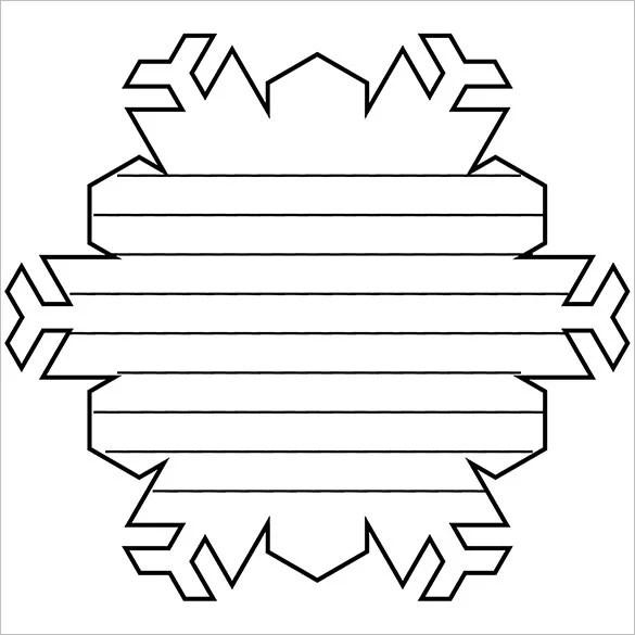 Printable Snowflake Cutouts free snowflake printables and