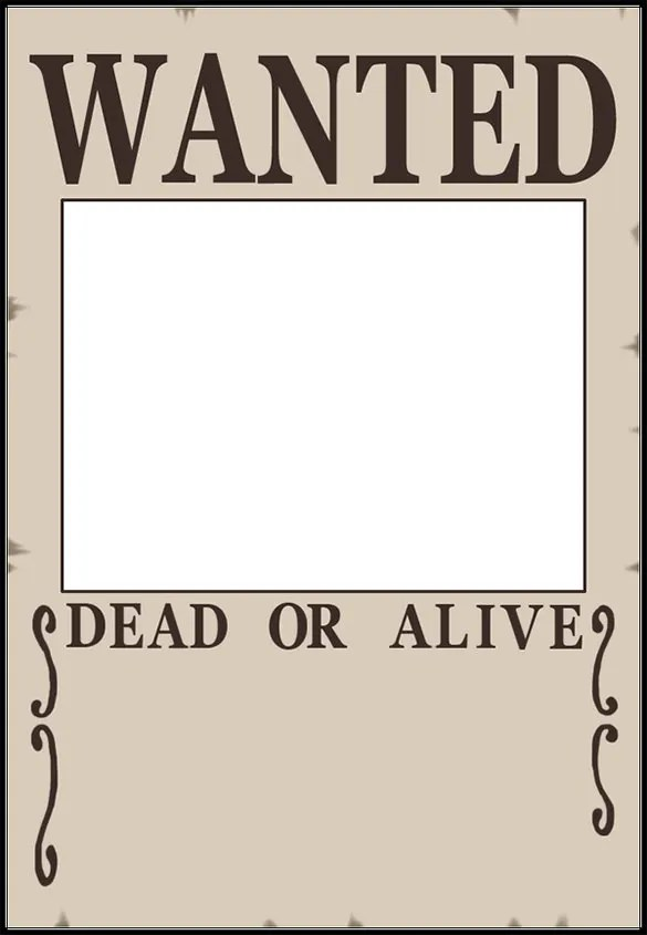 wanted poster template for kids - Boatjeremyeaton