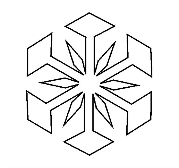 christmas snowflake templates - Onwebioinnovate - snowflake template