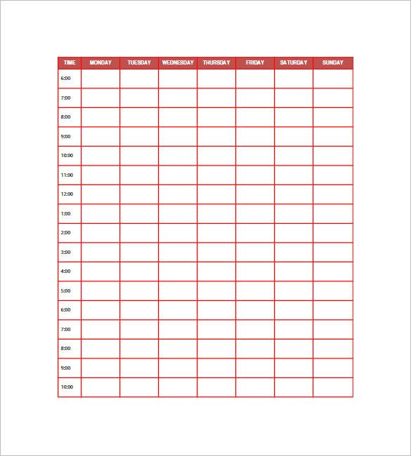 10+ Daily Agenda Templates \u2013 Free Sample, Example, Format Download