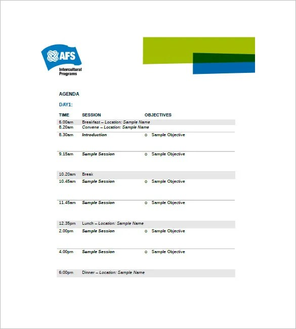 event agenda template word - Yelommyphonecompany - Agenda Template In Word