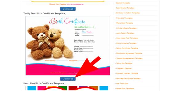 How to Create a Birth Certificate using Word \u2013 Tutorial Free - online birth certificate maker
