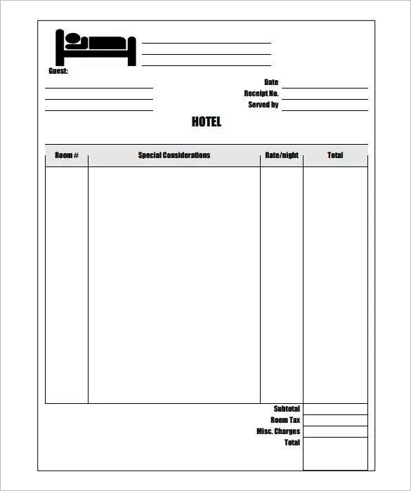 Invoice Template - 41+ Free Word, Excel, PDF, PSD Format Download - bills template free